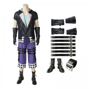 Full Set Riku Costume Kingdom Hearts 3 Edition Cosplay Costume