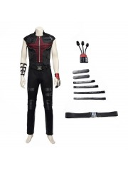 Marvel The Avengers Hawkeye Clint Barton Cosplay Costume
