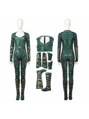 Top Level DC Justice League Aquaman Mera Cosplay Costume