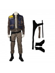 Rogue One A Star Wars Story Cassian Andor Halloween Cosplay Costume Full Suit