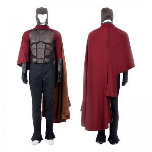 X-Men Magneto Costume Erik Lensherr Cosplay Costume Deluxe Version - Top Level
