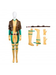 X-Men Rogue Costume Anna Marie Cosplay Costume Deluxe Version - Top Level