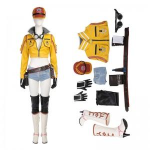 Final Fantasy 15 Cindy Cosplay Game Womenswear