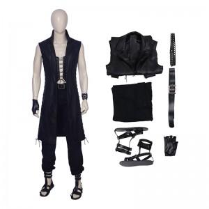 DMC5 Game Devil May Cry V Custome Sleeveless Windbreaker Jacket Cosplay Custome