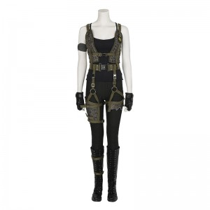 Resident Evil 6 The Final Chapter Cosplay Costume Alice Costumes Top Level