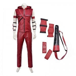 Green Arrow Roy Harper (Red Arrow) Cosplay Costume