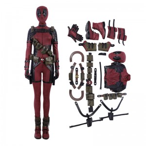 Deadpool 2 Lady Costume Woman Cosplay Costume Luxury Suit