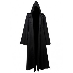 Star Wars Anakin Skywalker Cosplay Costume Cape Noire