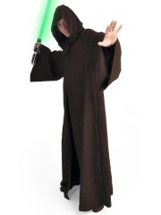 Star Wars Kenobi Jedi Cosplay Costume Cape Brune