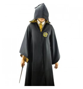 Harry Potter Hufflepuff Poufsouffle Uniform Cosplay Costume Pour Enfant Adulte
