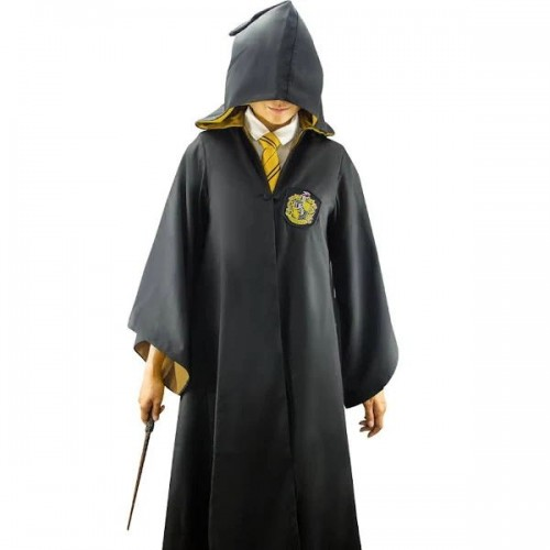 Harry Potter Hufflepuff Poufsouffle Uniform Cosplay Costume Pour Enfant Adulte