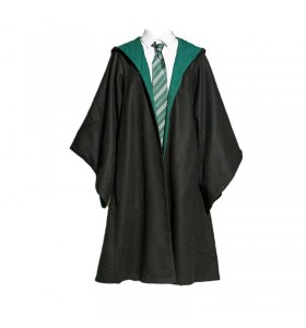Harry Potter Slytherin Serpentard Uniform Draco Malfoy Cosplay Costume Pour Enfant Adulte