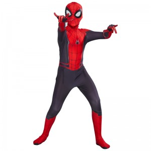 Spider-Man 2 Far From Home Spiderman Peter Parker Cosplay Costume Pour Enfant
